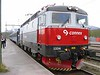 31 May 2006 :: Connex Rc6 1334 is seen at Bjoernfjell while working the 1529 from Kiruna in Sweden to Narvik in Norway.  <br /> The train was held here to allow an empty iron ore train to pass before our train could enter the single line section.  During the course of waiting a conversation developed with the driver who invited me to join him in the cab for the rest of the journey to Narvik!!