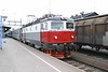 31 May 2006 :: Un branded Rc6 1335 at Boden at the head of the 1758 sleeper train from Stockholm to Narvik