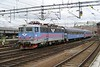 30 May 2006 :: SJ Rc6 1365 arriving at Stockholm Central