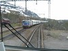 31 May 2006 :: Passing another passenger train while on our way to Narvik