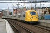 29 May 2006 :: An Arlanda Express EMU arriving at Stockholm Central after completing its journey from Stockholm Airport
