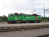 26 July 2006 :: Green Cargo Rc4 no. 1276 at Kiruna
