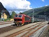2 August 2006 :: El 17 224 waits in the afternoon sun at Flåm with a train for Myrdal