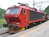 2 August 2006 :: NSB liveried El 17 224 at Myrdal