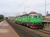 24 July 2006 :: Seen just outside Stockholm Central Station are Green Cargo Rc4 1176 + Rd2 1081