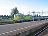 26 July 2006 :: Banverket Produktion ELL 002 leads an engineers train through Boden