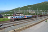 "27 July 2006 :: Dm3 1207-1232-1208 ""Sofia"" with a loaded iron ore train at Narvik"
