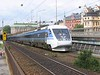 24 July 2006 :: An SJ X2000 tilting train has just departed from Stockholm Central