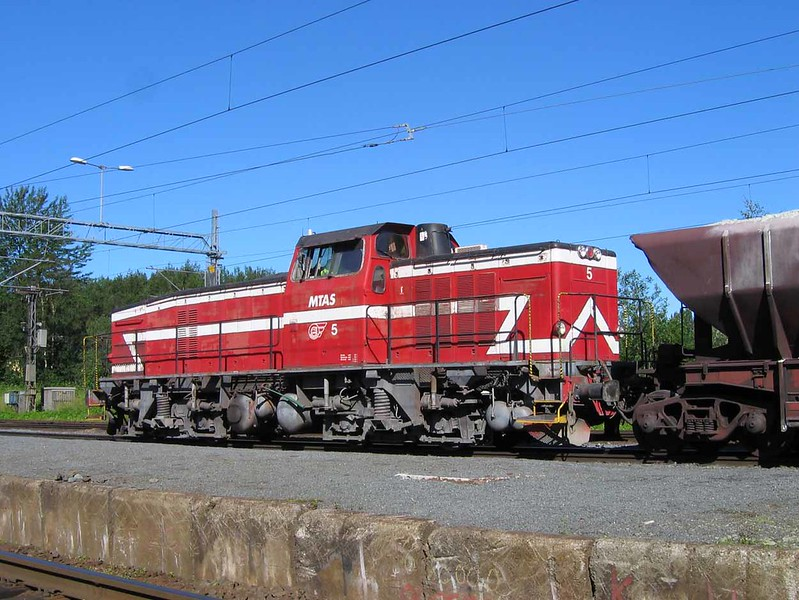 27 July 2006 :: MTAS / MTAB Bo Bo diesel no.5 at Narvik