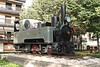 29 October 2006 :: Ferrocarril de Sant Feliu de Guíxols a Girona (SFG) 0-6-2 steam locomotive no. 2 (works no. 2356 and built 1890 in München) on a plinth outside Girona Station