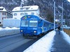 16 January 2006 :: Running through the streets at Chur is an Arosa line train