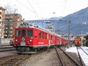 17 January 2006 :: At Tirano is RhB ABe 4/4 no. 48 with another class member waiting to take a train to St. Moritz which will travel over the Bernina line