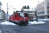 """16 January 2006 :: RhB Ge 4/4 ii no. 613 """"Domat / Ems"""" is street running through Chur with a train to Arosa"""