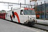 18 September 2006 :: RhB Ge 4/4/iii in Holcim livery is arriving at Chur with a train from St Moritz