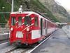 """14 September 2006 :: BVZ Class ABDeh8/8 no. 2043 """"Zermatt"""" is pictured at Täsch"""