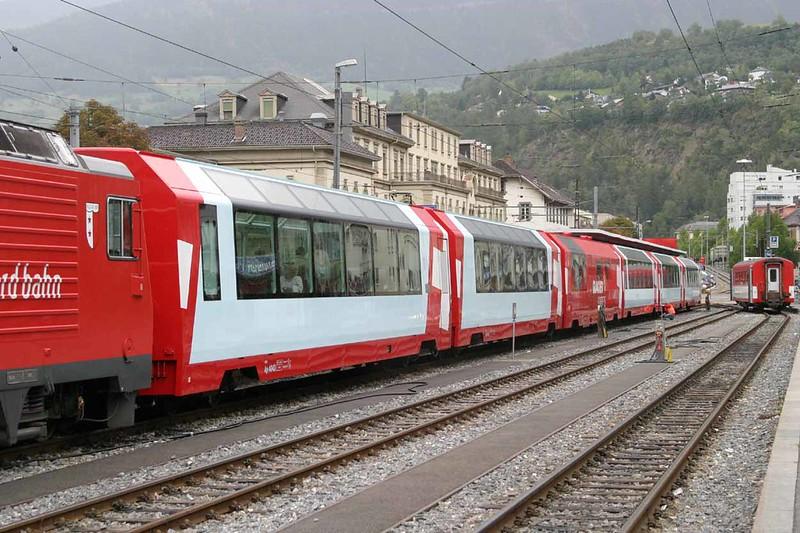 14 September 2006 :: A look at the new Glacier Express coaches at Brig