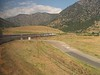 30 June 2006 :: A view of my train from on board, the California Zephyr west of Denver