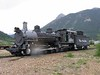 1 July 2006 :: At the Durango and Silverton Narrow Gauge Railroad is Baldwin K-37 class 2-8-0 locomotive pictured at Silverton