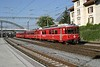 16 September 2007 :: RhB Class Be 4/4 EMU no. 515 is arriving at Chur