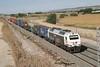 27 September 2007 :: 334 341 powering an intemodal train at Ciempozuelos