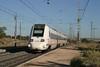 28 September 2007 :: A Class 598 tilting DMU speeding through Huerta de Valdecarábanos