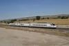 27 September 2007 :: A RENFE Class 490 3 car Alaris tilting EMU working from Madrid to Valencia at Ciempozuelos