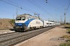 28 September 2007 :: Altaria 252 037 with a Talgo set working a Madrid to Malaga service through Huerta de Valdecarábanos