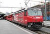 27 February 2007 :: RhB Ge 4/4iii no. 646 has just arrived at Chur