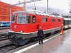 26 February 2007 :: A very clean looking SBB Re 4/4 no. 11126 at Chur