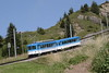 12 August 2007 :: BDhe 2/4 no. 12 on the Rigibahnen at Rigi Staffel