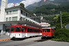 12 August 2007 :: On the Rigibahnen at Vitznau is Bhe 4/4 no. 22 and Bhe 2/4 no. 4 (which dates back to 1953)