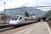 14 August 2007 ::  Cisalpino ETR 470 tilting Pendolino at Bellinzona