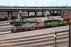 13 June 2007 :: A closer look at some of the locomotives on shed at Denver<br /> Santa Fe C41-8W no. 938<br /> ES44C4 no. 7030