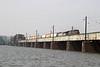 8 June 2007 :: CSX ES44DC no. 5306 + ES44AC-H no. 3089 crossing the Potomac River, Washington DC