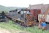 12 June 2007 :: Denver & Rio Grande Western GP30 no. 3011 in a sorry state at The Colorado Railroad Museum