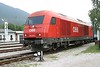 26 July 2008 :: A closer look at ÖBB 'Hercules' diesel 2016 042 at Puchberg am Schneeberg