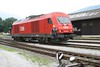 26 July 2008 :: ÖBB 'Hercules' diesel 2016 042 running round its train at Puchberg am Schneeberg