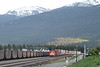 8 June 2008 :: Heading a double stack container train into Jasper are two CN ES44DC's nos. 2278 + 2254
