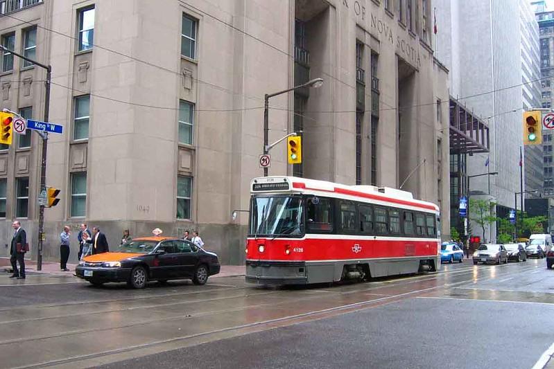 3 June 2008 :: Toronto street car (tram)  no. 4186
