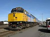 18 September 2008 :: Via Rail F40PH-2's no. 6448 + 6441 leading Train 1, The Canadian at a scheduled stop at Capreol