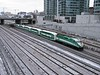 11 December 2008 :: GO MP40 no. 619 is approaching Toronto Union Station