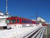 13 February 2008 :: Rigibahnen Bhe 4/4 no. 22 is at Rigi Kulm Station