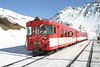 12 February 2008 :: An MGB driving trailer leads a Train from Oberalppass to Andermatt