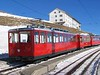 13 February 2008 :: Rigibahnen Bhe 2/4 no. 1 at Rigi Kulm