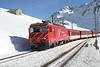 """12 February 2008 :: MGB He 4/4 no. 103 """"Chur"""" arriving at Nätschen with a train for Andermatt"""