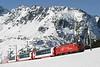 "12 February 2008 :: MGB HGe  4/4 ii  no. 102 ""Altdorf"" leads a Glacier Express at Nätschen"