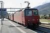 13 April 2008 :: Unbranded Crossrail Class 436 locomotives, 112 + 115 at Visp
