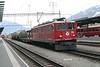 """11 April 2008 :: RhB Ge 6/6  Bo-Bo-Bo no. 703 """"St Moritz"""" leading a freight train at Landquart"""