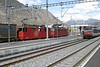 13 April 2008 :: Another view of the Unbranded Crossrail Class 436 locomotives, 112 + 115 at Visp