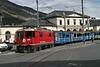 "11 April 2008 :: RhB Ge 4/4ii no. 618 ""Bergün/Bravuogn"" waiting at Chur Bahnhofplatz to form a train to Arosa"